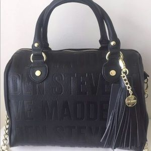 Authentic Steven Madden satchel crossbody w/wallet